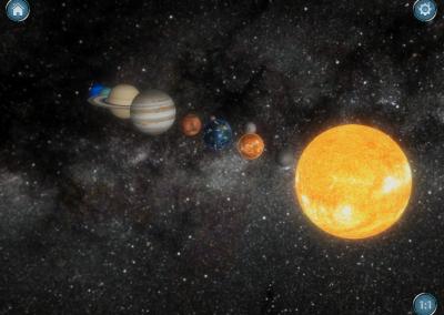 Solar System@Home AR
